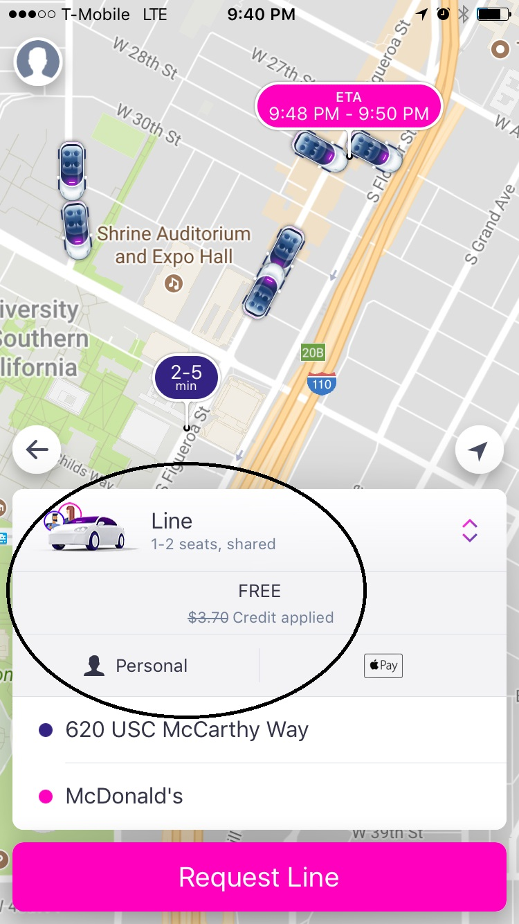 Lyft Fare Quote How Usc Students Can Use Lyft  Usc Transportation